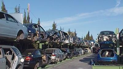 coches dados de baja en el desguace